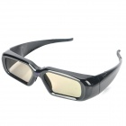 Universal USB Rechargeable 3D IR Active Shutter Glasses for Sony / LG / Toshiba TVs + More - Black