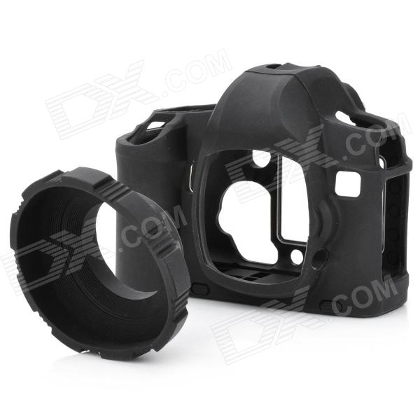 MQ-CS5DII Protective Silicone Anti-Collision Case for Canon 5D II - Black helicoil insert 18 8 stainless steel unified us coarse 1 1 4 7 x 1 5d 1 875 lgth qty 25