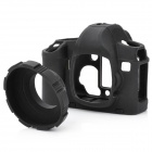 MQ-CS5DII Protective Silicone Anti-Collision Case for Canon 5D II - Black