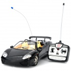 1:12 Remote Control 4-CH Convertible Racing Car - Black