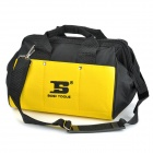 "BOSI Professional 13"" Water Resistant Polyester Tool Bag - Black + Yellow"