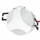 1W 40lm 660nm Red 1-LED Light Lamp - Silver