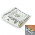 Creative 100 Dollar Bill Style Door Stopper Guard - White + Green + Black