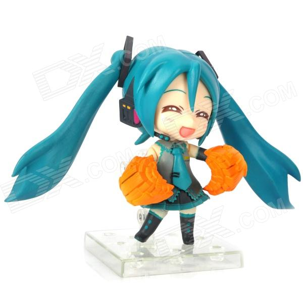 170 Cute Hatsune Miku Face Changeable Figure Garage kit Set a toy a dream model action figure japan 22cm sakura miku hatsune rc miku hatsune feat pvc model hand toy doll xmas gift collect