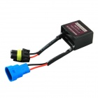 #A Car HID Warning Canceller Decoder Filter - Black