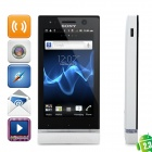 "Sony ST25i Xperia U Android 2.3 WCDMA Bar Phone w/ 3.5"" Capacitive, GPS and Wi-Fi - White (8GB)"