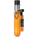 Compact 1300'C Butane Jet Soldering Torch Lighter - Yellow