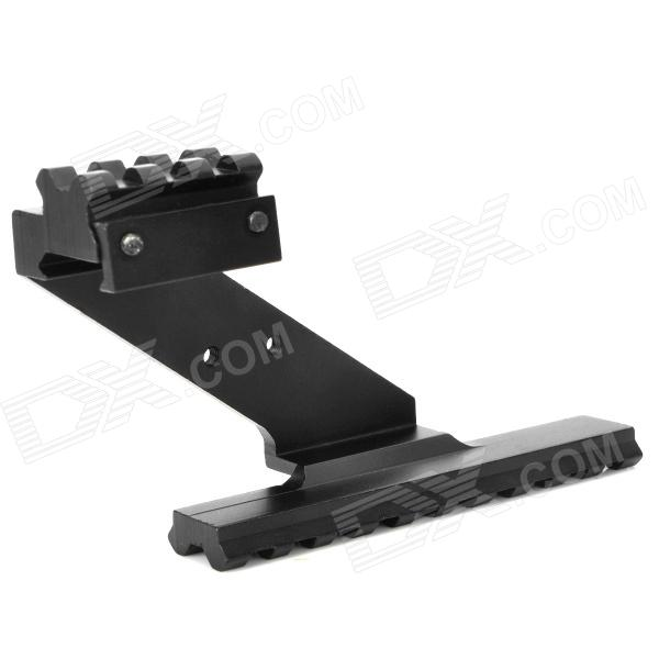 Aluminum Picatinny Rail Base Top Mount for Pistol - Black