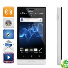 "Sony MT27i Xperia Sola Android 2.3 WCDMA Barphone w/ 3.7"" Capacitive, GPS and Wi-Fi - White (8GB)"