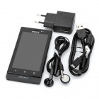 "Sony MT27i Xperia Sola Android 2.3 WCDMA Barphone w/ 3.7"" Capacitive, GPS and Wi-Fi - Black (8GB)"
