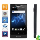 "Sony MT27i Xperia Sola Android 4.1.1 WCDMA Barphone w/ 3.7"" Capacitive, GPS and Wi-Fi - Black (8GB)"