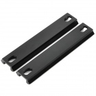 20mm Picatinny Rail Set for G36 Series - Black (2-Piece Pack)