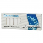 Strawberry Cheese Flavor Electronic Cigarette Refills Cartridges - White (10-Piece Pack)