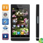 "LT26 Android 2.3 WCDMA Bar Phone w/ 4.3"" Capacitive Screen, GPS, Wi-Fi and Dual-SIM - Black"