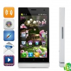 "LT26 Android 2.3 WCDMA Bar Phone w/ 4.3"" Capacitive Screen, GPS, Wi-Fi and Dual-SIM - White"