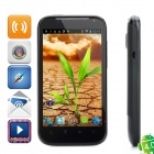 "G88a Android 4.0 WCDMA Smartphone w/ 4.3"" Capacitive Screen, GPS, Wi-Fi and Dual-SIM - Black"