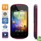 "G22 Android 2.3 GSM-Bar Telefon w / 3,5 ""kapazitiven Bildschirm, Quad-Band, Wi-Fi-und Dual-SIM - Purple"