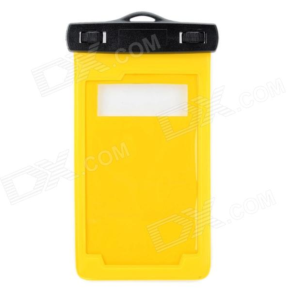 Protective Waterproof Bag with Armband / Lanyard for Samsung Galaxy Note i9220 - Yellow + Black mhl docking station for samsung galaxy note i9220 black silver
