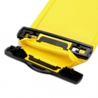 Protective Waterproof Bag with Armband / Lanyard for Samsung Galaxy Note i9220 - Yellow + Black