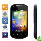 "G22 Android 2.3 GSM Smartphone w/ 3.5"" Capacitive Screen, Quad-Band, Wi-Fi and Dual-SIM - Black"