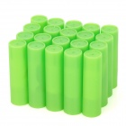 High Nicotine Electronic Cigarette Refills Cartridges - MB Flavor (Green / 20-Piece Pack)