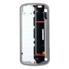 Replacement Keypad Board Bezel for Nokia N97 - Silver + White