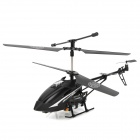 Mini Rechargeable 3.5-CH Full-scale Die-cast IR Control R/C Helicopter - Black