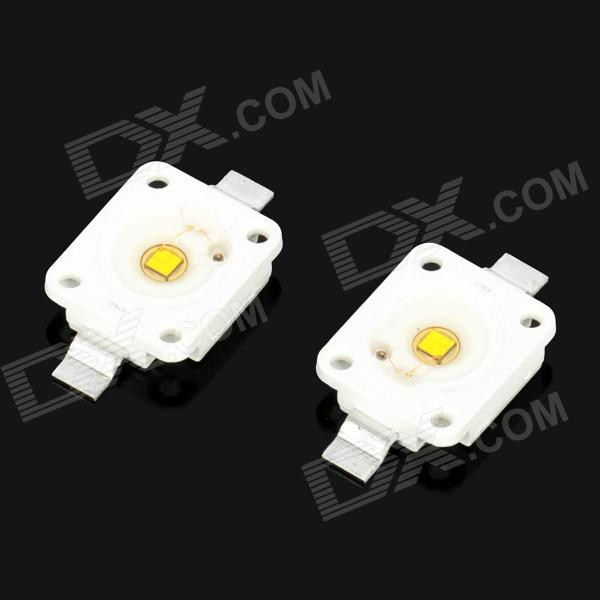 3W 260LM 5500~6300K Cool White Light LED Lamp Bead (3.2~3.6V / 2 PCS)