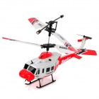 Mini Rechargeable 3.5-CH IR Control Simulation R/C Helicopter - Red + White + Black