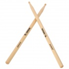 Instrument Wooden Jazz Drum Sticks - White (Pair/40cm)