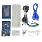Arduino Compatible 2560 Motherboard + V3 + Expansion Board Breadboards + USB-Kabel + LED-Leuchten-Kit