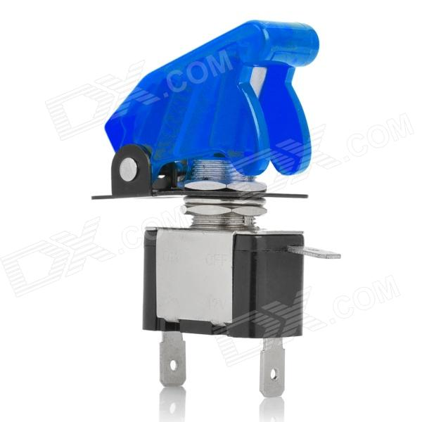 DIY Blue LED Illuminated Car Toggle On / Off Switch (12V / 20A) car push button switch with blue led indicator 12v vehicle diy