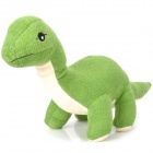 Cute Short Plush Fabric Dinosaur Style Toy Doll - Green