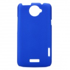 Mesh Style Protective Back Case for HTC One X S720e - Blue
