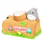 Cute Cartoon Totoro Stump Style Long Paper Towel Sets - Brown + Green