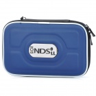 Protective Hard Artificial Carrying Pouch for Nintendo DSi XL / DSi LL - Dark Blue