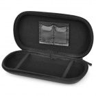Hard Artificial Leather Pouch Case for PSP 1000 2000 3000 - Black