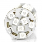 1156 4W 68x3528 SMD LED Luz Azul Car Brake / Turning / Backup / Tail Lamp (12V / 2-Piece)