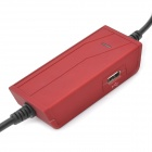 Universal Car Cigarette Powered Power Adapter Charger for Laptop Notebook - Red (8 Connectors)