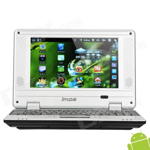 "Imos A703 7.0"" LCD Android 2.2 Netbook with Wi-Fi / 2GB TF Card / SD Slot - Black + Silver"