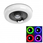 Multicolored 3W 20-LED Car Interior RGB LED Roof Light Lamp (DC 12V)