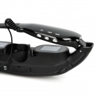 "Rechargeable 72"" Virtual Screen Video Player Glasses w/ TF / AV-In / 2.5mm Jacks - Black (4GB)"