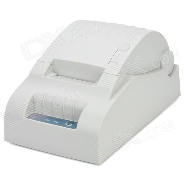 XP-58III USB Thermal POS Receipt / Bill Printer - White 58mm portable wifi printer usb mini thermal pos bill printer support unintermittent sticker label qr code printing for business
