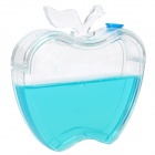 Apple Shaped Ant Workshop Kid Teaching Toy - Transparent + Blue