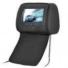 "NST-701H Car Headrest 7"" LCD DVD Media Player w/ Speakers / MMC / MS / SD Slot - Black"