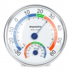 Anymetre Battery-Free Thermometer Humidity Meter - White