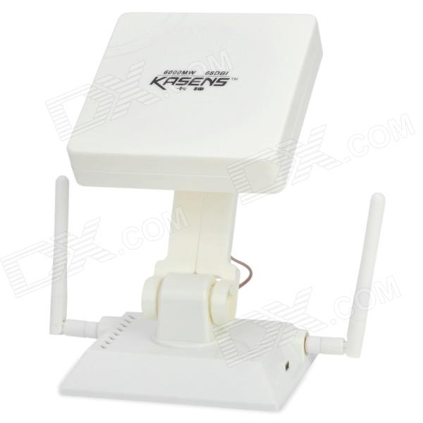 KS1680 High Power 6000mW 802.11b / г 9dBi USB Wireless Network Adapter - White