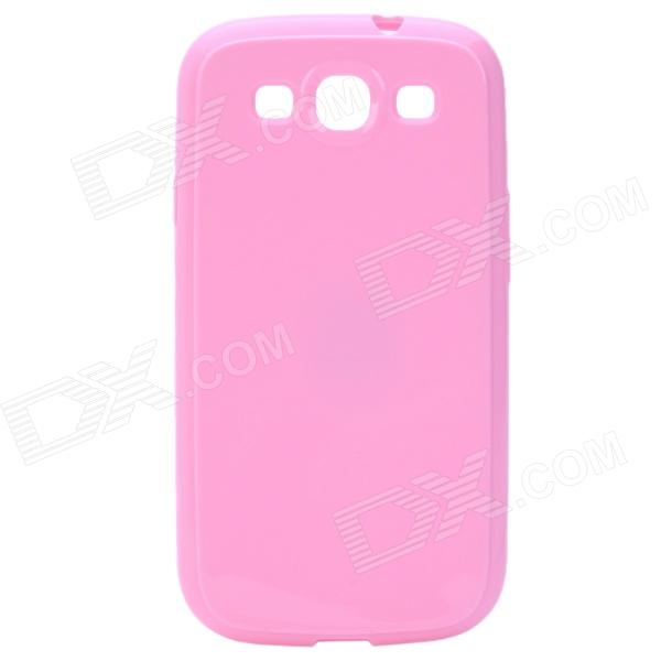 Stylish Protective TPU Back Case for Samsung Galaxy S3 i9300 - Pink