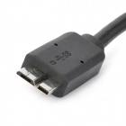 USB 3.0 Standard-A macho para Micro-B Adapter Male Cable - Black (40cm)