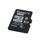 Tarjeta de memoria Kingston Micro SDHC TF - Negro (8GB / Class 10)